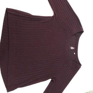Pacsun Maroon Sweater